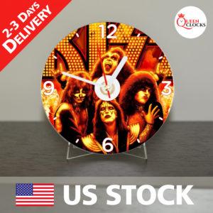 0011_kiss CD_Clock by Queen Clocks_
