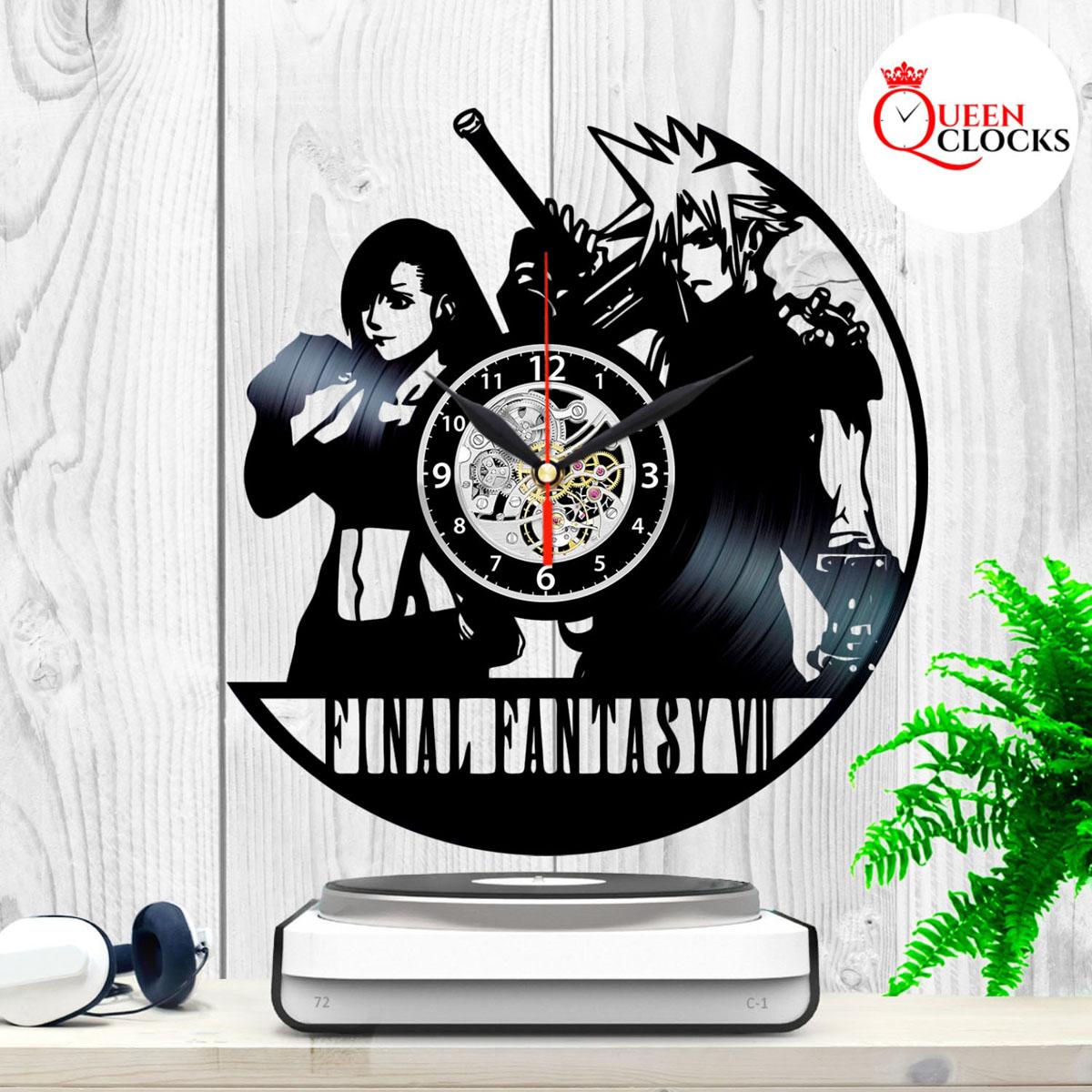 Final Fantasy Vii 7 Sephiroth Cloud Vinyl Record Wall