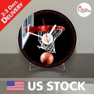 0018_Basketball CD_Clock by Queen Clocks_