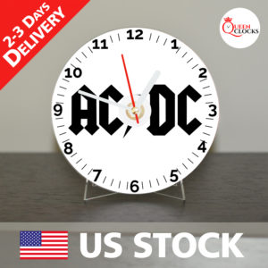 0020_AC DC logo CD_Clock by Queen Clocks_