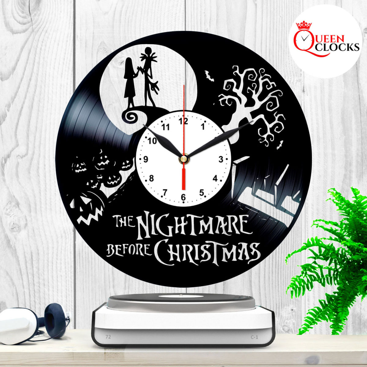 Nightmare Before Christmas Gifts Uk: Jack Skellington Nightmare Before Christmas Vinyl Record