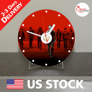 0026_The Walking Dead CD_Clock by Queen Clocks_