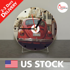 0030_Volkswagen CD_Clock by Queen Clocks_