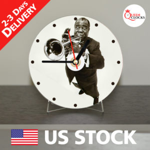 0037_Jazz Musician CD_Clock by Queen Clocks_