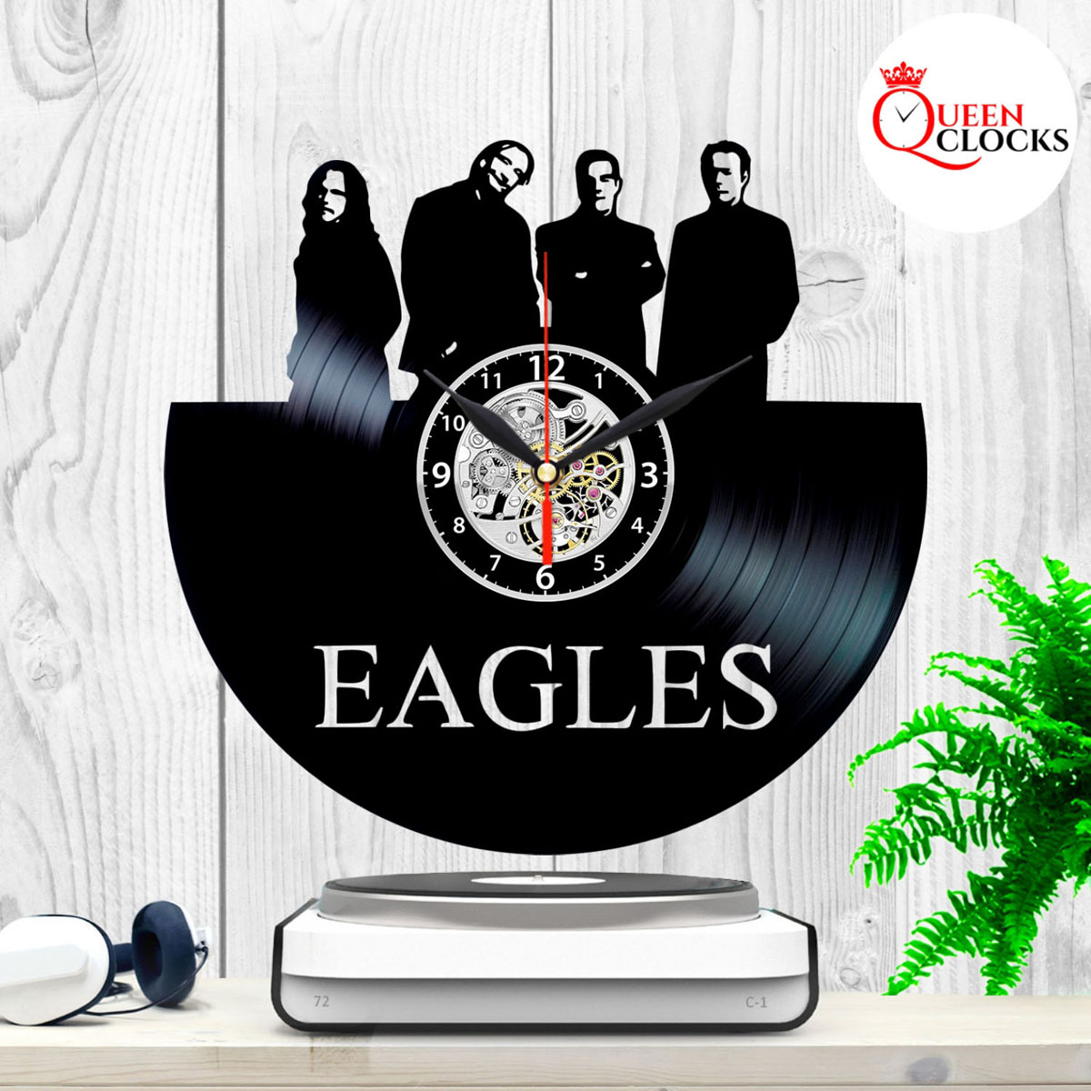 9fcc949d Details about Eagles Rock Band Hotel California Vinyl Record Wall Clock Art  Decor Gift Items