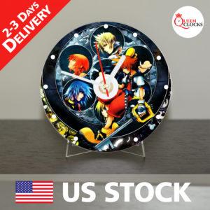 0041_Kingdom Hearts CD_Clock by Queen Clocks_