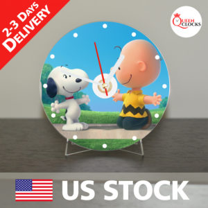 0042_Snoopy CD_Clock by Queen Clocks_