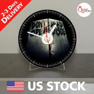 0049_The Walking Dead CD_Clock by Queen Clocks_