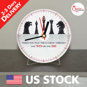 0053_Game of Thrones CD_Clock by Queen Clocks_