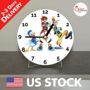 0055_Kingdom Hearts CD_Clock by Queen Clocks_