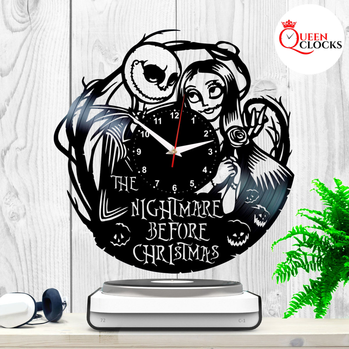 The Nightmare Before Christmas Jack Skellington Sally Vinyl Record