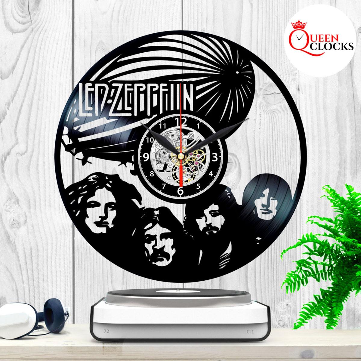 Led Zeppelin Rock Vinyl Record Lp Wall Clock Decor Art