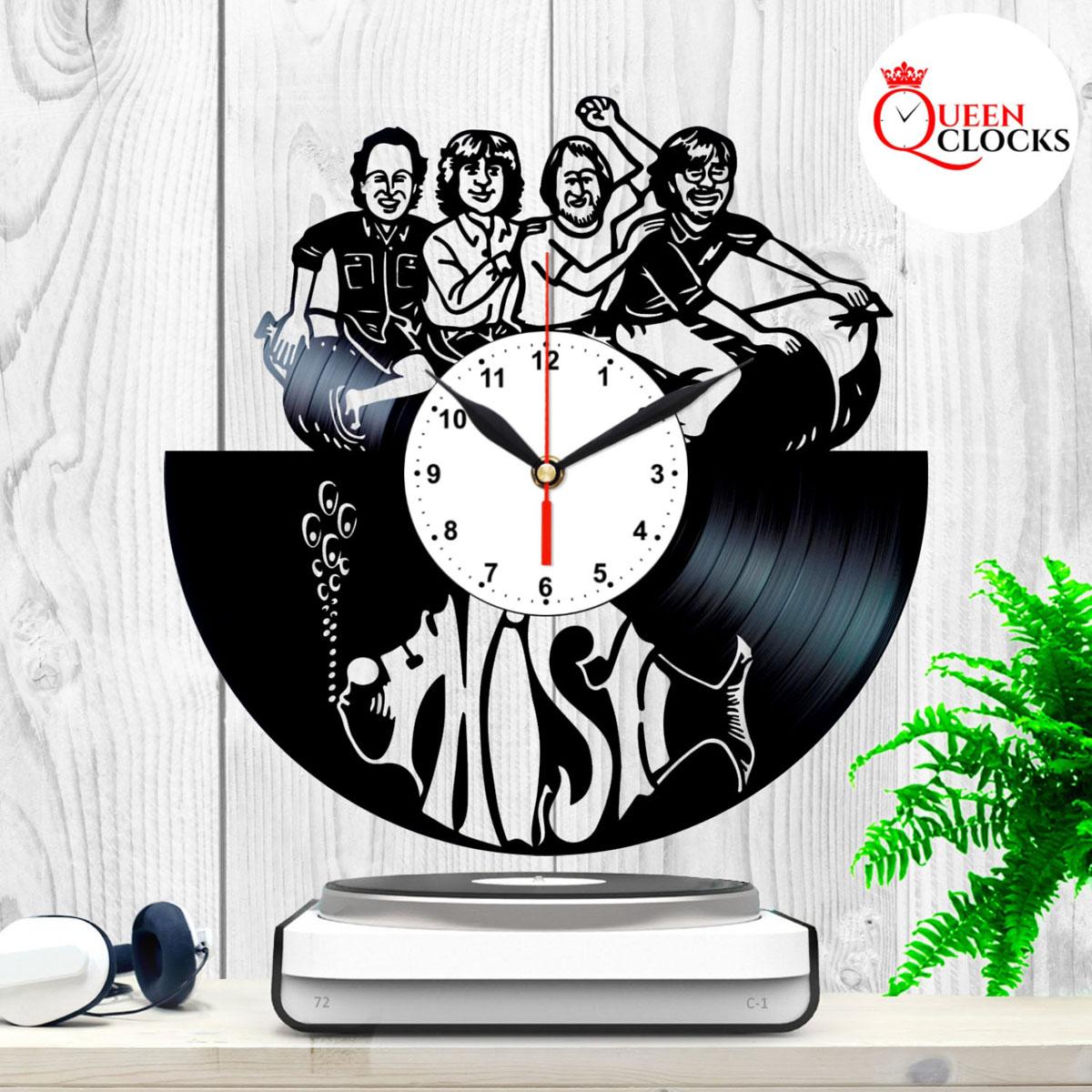 DEL Zeppelin Rock Vinyl Record Luang por Horloge murale Décor Art Decor Anniversaire Idée Cadeau