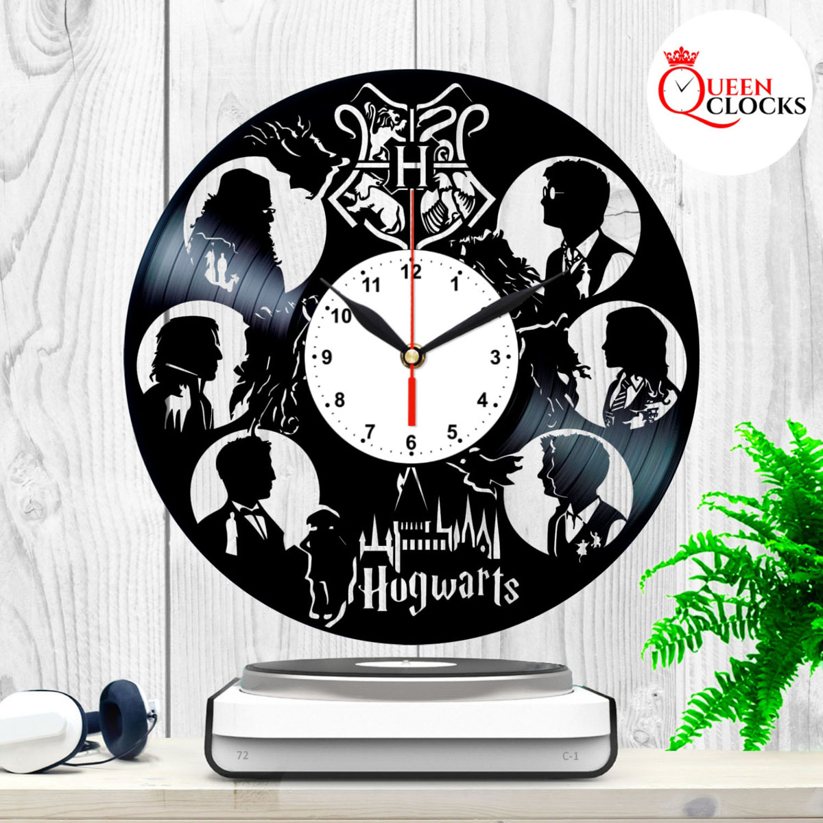 Nightmare Before Christmas Vinyl Wall Clock Art Gift Room Modern Home Record Vintage Decoration Gift for Fans Home /& Office Bedroom Nursery Room Wall Decor Customize Your Clock !